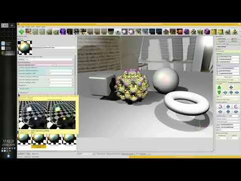 Mandelbulber tutorial part 9 - Material editor - iridescence