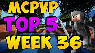 Minecraft PVP | MCPVP Top 5 | Week 36 Endermage Mistakes