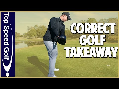Correct Golf Takeaway
