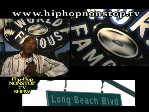 Snoop Dogg, Nate Dogg, Warren G Hood Eastside of The LBC at V.I.P Records with the DOGG POUND