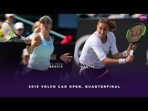 Belinda Bencic vs. Petra Martic   2019 Charleston Open Quarterfinal   WTA Highlights