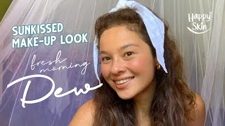 Achieving My Fave Sunkissed Make-Up Look with Happy Skin's Morning Dew Collection | Happy Islanders