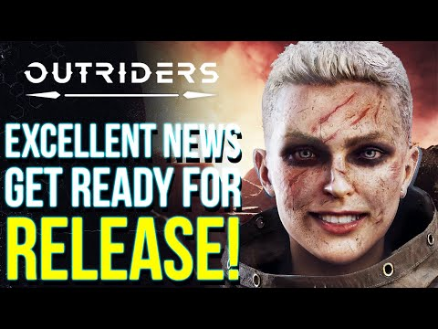 OUTRIDERS NEWS | Check Your Inventories Right Now! PRELOADS Already Live & Big List Of Improvements