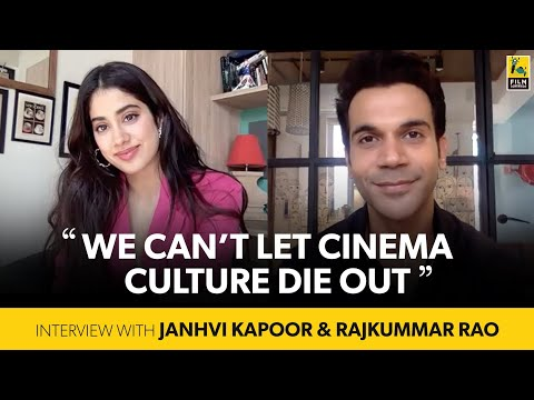 Janhvi Kapoor, Rajkummar Rao Interview with Anupama Chopra | Roohi | Film Companion