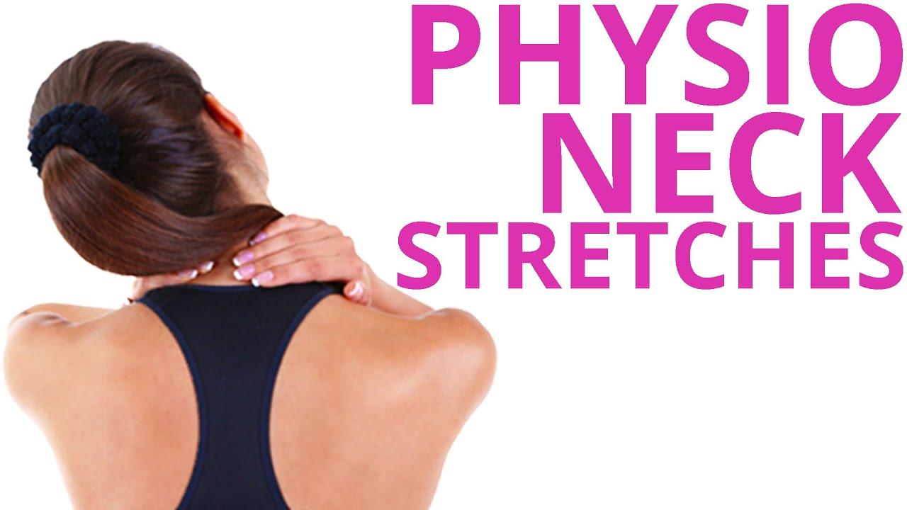 Physio Neck Exercises Stretch & Relieve Routine - YouTube