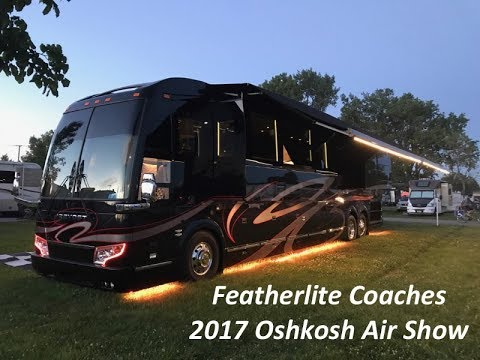 Featherlite Coaches at EAA 2017