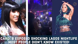 Cardi B Epic Nigeria Visit & Why People Are Talking About It?
