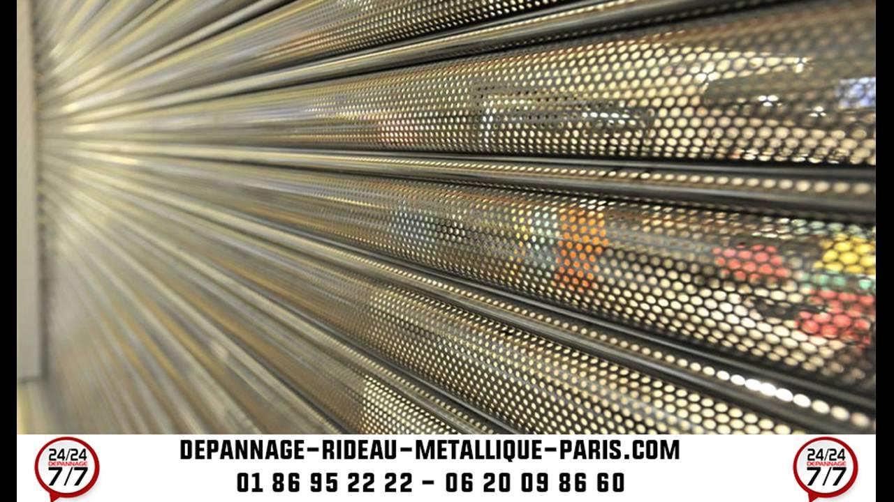 Deblocage Rideau Metallique 01 86 95 22 22 Depannage Rideau