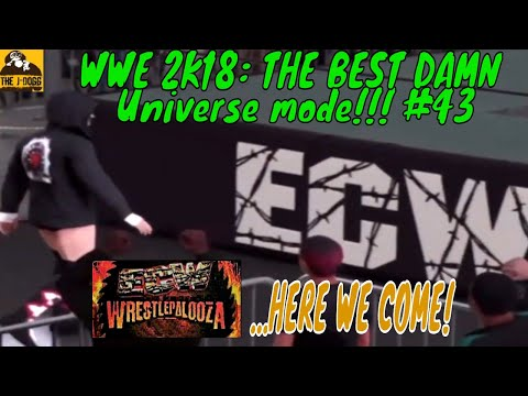 """wwe-2k18:-ecw-friday-night-fights-""""wrestlepalooza-here-we-come!""""--the-best-d@mn-universe-mode!!!-#43"""
