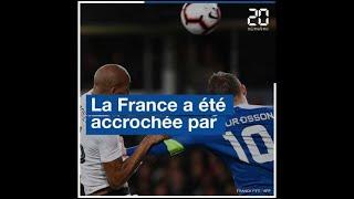 Résumé du match amical France-Islande (2-2)