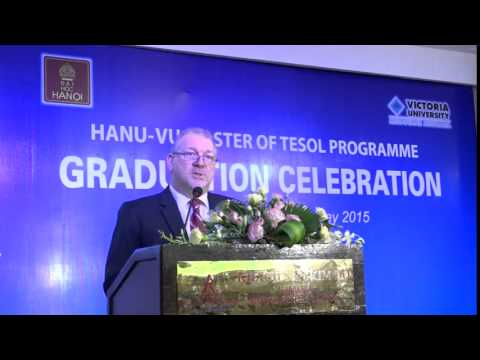 HANU-VU Master of TESOL Graduation Ceremony - Ho Chi Minh City 16/05/2015