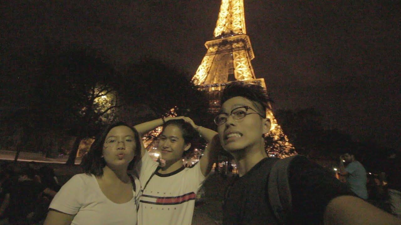 First Days in Paris!! | Quẩy ở Paris!! |  (eng/vietsub)