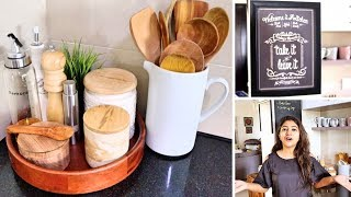 Indian Kitchen Countertop Organization 2019 | 10 functional ways to decorate your Kitchen today