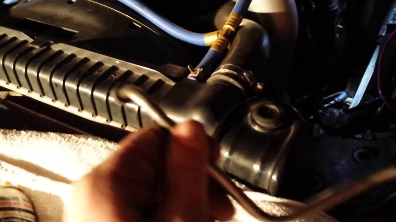 2005 6 0l powerstroke exhaust back pressure sensor ebp cleaning