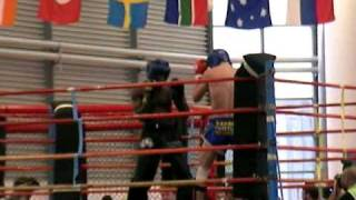 Williams illemay vs Ukraine en italie WTKA.part1