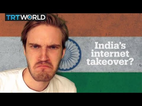 PewDiePie vs T-Series: India's YouTube takeover?