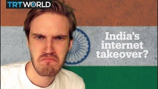 PewDiePie vs T-Series: India's YouTube takeover?