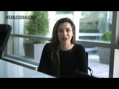Rachael Ancheril asks you to take the Fearless Challenge