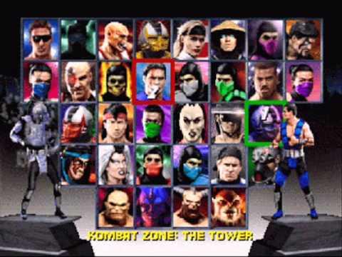 Mortal Kombat Trilogy - Character Select