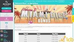 Miami Dice Casino Video Review