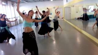 Intensive Training Oriental Dance with Mirjam 2016