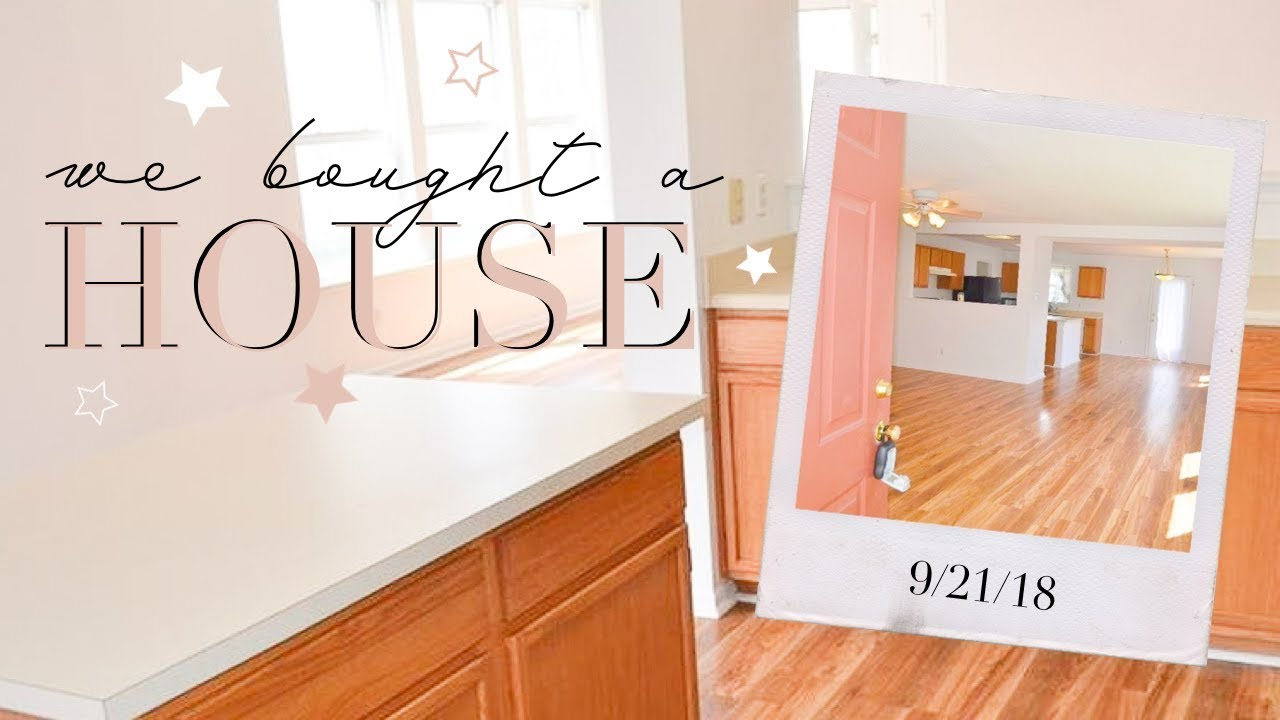 "WE BOUGHT A HOUSE! Empty ""Before"" House Tour 