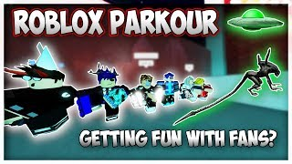 Roblox PARKOUR, Do not watch this if you are not +18