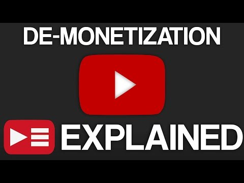 YouTube De-Monetization: EXPLAINED