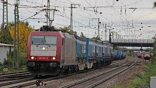 Bahnverkher in Müllheim (3) 10/2015 Video