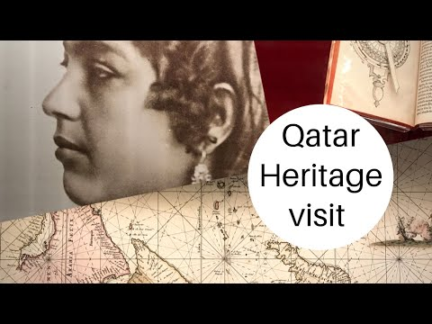 Visit to Qatar National Library Heritage Library |Qatar Travel Blog| in Tamil by Noorul  #tamilvlog