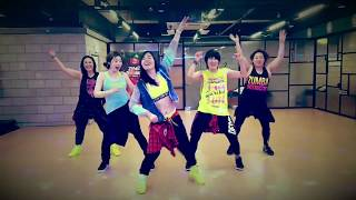 Zumba Bruno Mars - Finesse (Remix) (Feat. Cardi B) Choreo by Shindong in Korea.