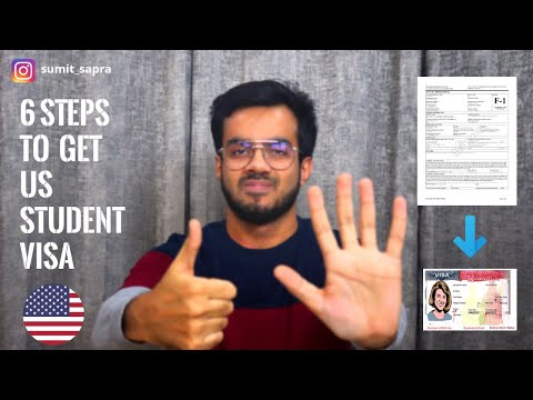 US F1 Visa Complete Process | BONUS TIP TO GET US VISA APPOINTMENT IN COVID 19 | I-20 To F1 Visa