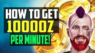 10000 ZENNY Per Minute! HOW TO GET MONEY FAST IN MONSTER HUNTER WORLD!