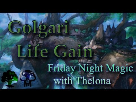 Friday Night Magic Duels | Golgari Life Gain Deck Gameplay #2 | Magic Duels | MtG Kaladesh Life Gain