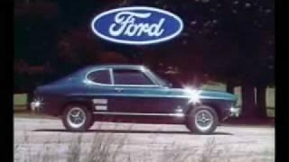 Ford Capri Mk1 adverts