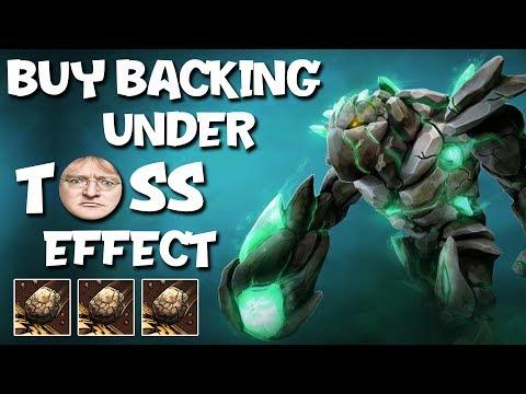 BUY BACKING UNDER TOSS EFFECT (SingSing Dota 2 Highlights #1200)