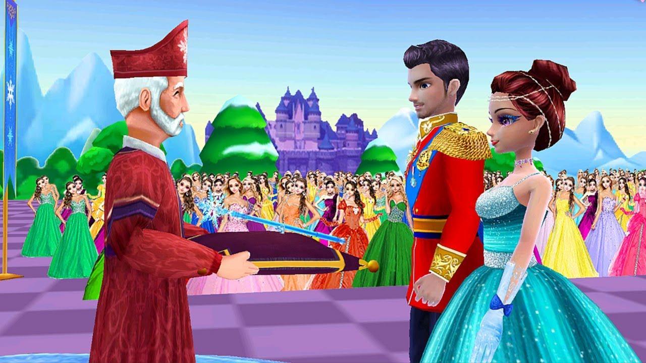 Đám Cưới Và Khiêu Vũ Của Công Chúa Băng Giá Và Hoàng Tử – Game Đám Cưới Cô Dâu Chú Rể