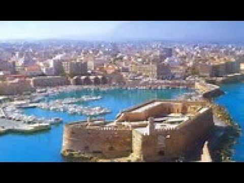 Heraklion, Hersonissos, Knossos: a video tour