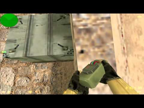 Counter Strike 1.6 - C4 bug [de_dust2]