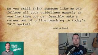 Can You Make a Career of Online Teaching in 2017?