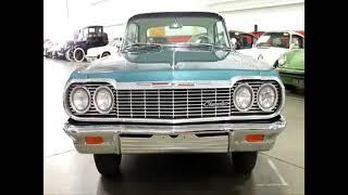 1964 Chevrolet Impala SS Sport Coupe Aqua