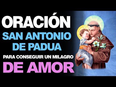 🙏 Oración efectiva a San Antonio de Padua PARA UN MILAGRO DE AMOR ¡El Santo del Amor! ❤