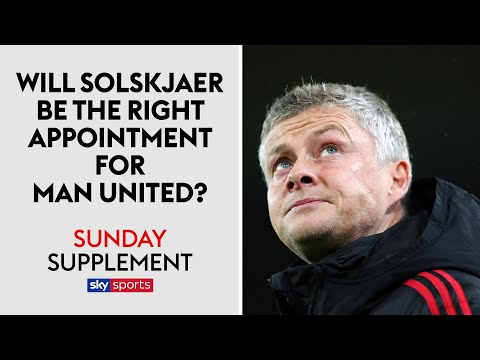 Will Ole Gunnar Solskjaer be the right appointment for Man United? | Sunday Supplement