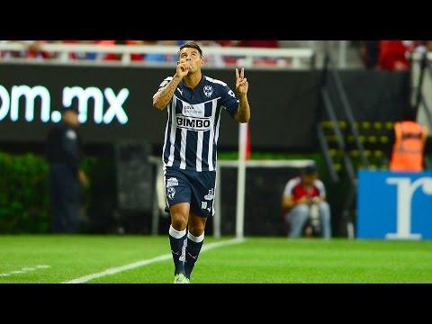 Edwin Cardona/Goles y jugadas (Monterrey - Atlético Nacional - Colombia)