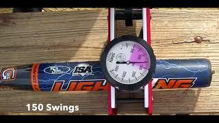 "Senior Softball Bat Reviews (Dudley 2 0 13"" Compression Testing)"