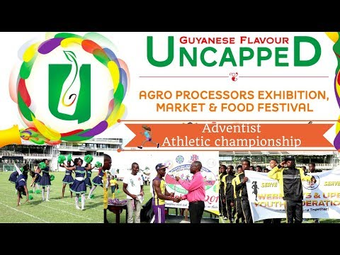 Adventist Athletic Championship & Guyana Flavour Uncapped festival vlog