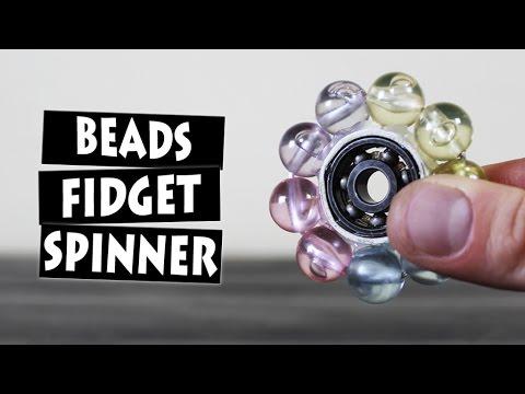 Diy Beads Hand Spinner Fidget Toy Youtube