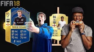 FAMOUS YouTubers WITH A FIFA CARD!