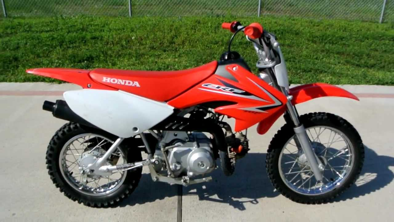 2009 Honda CRF70F Dirt Bike: Overview and Review - YouTube