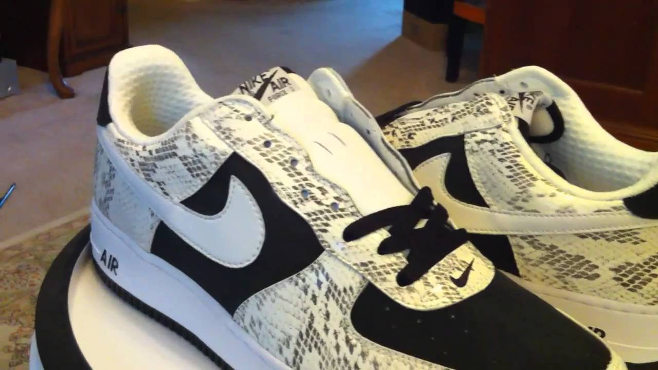 more photos 0514e 15779 Nike Air Force 1 Premium - Cocoa - White  Black  Snake - Deadstock.